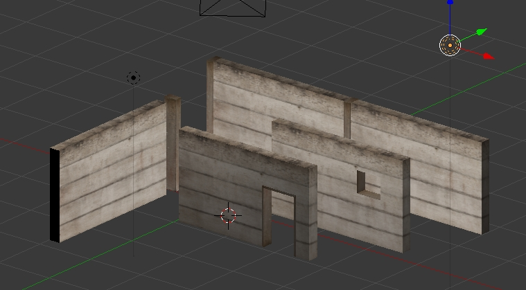 Modular walls with Blender for Unity
