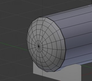 Edit-Mode in Blender for oiltank