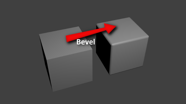 Bevel tool in blender