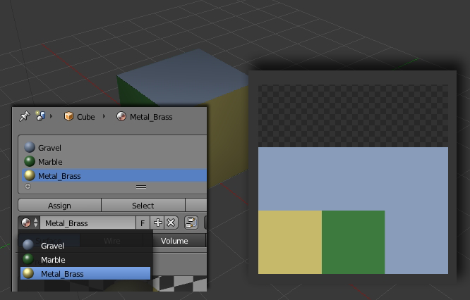 Baking colormaps with Blender for dDO