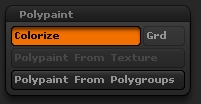 Polypaint by setting to Colorize