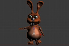Rigging with blender and rigify