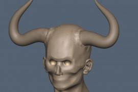 Horns result in 3D-Coat