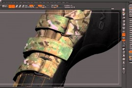 Low poly game model with ZBrush
