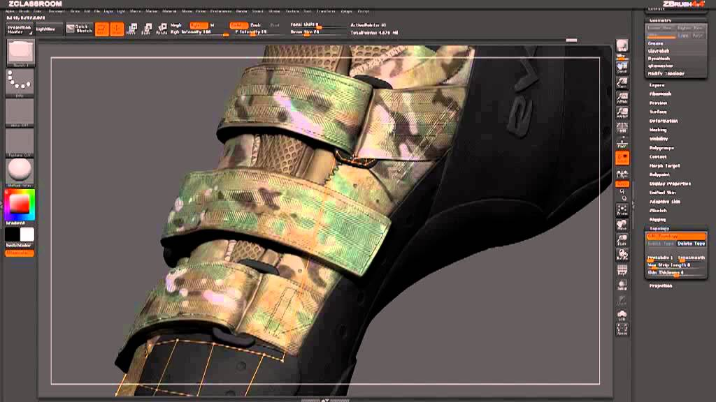 Low poly game model with ZBrush | JayAnAm - Gamedev tutorials