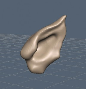 Using Move and smooth brush for basic shape