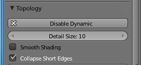 Enable dynamic topology in Blender