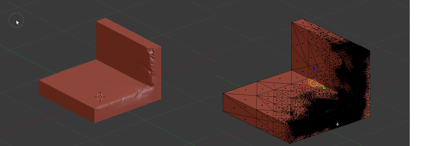 Blender dynamic topology sculpting