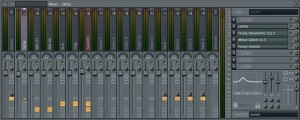 Plugins used for 3xOsc in mixer