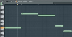 Sylenth1 Pianorroll FL Studio 11