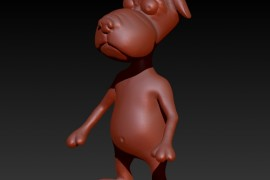 Part_4: ZBrush cartoon snout and feet
