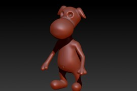 adaptive_skin_zbrush_cartoon_dog