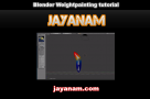 Blender Weightpainting