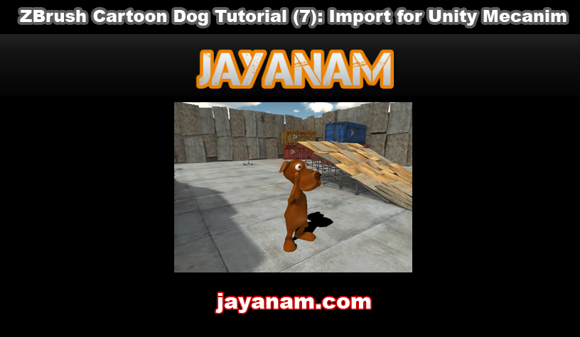 Import Blender fbx to Unity Mecanim | JayAnAm - Gamedev tutorials