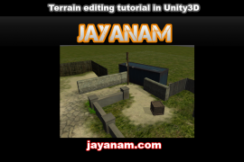 Terrain engine of Unity-3D