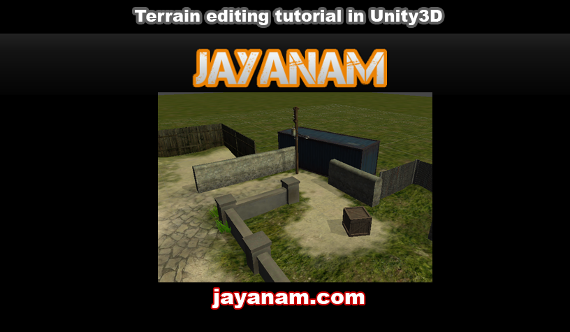 Unity terrain engine tutorial