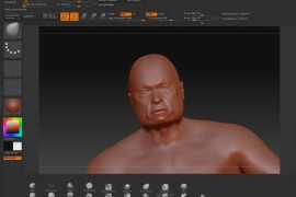 MakeHuman model in Zbrush with higher polycount