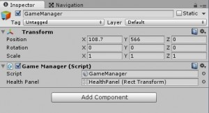 GameManager singleton Unity 3D