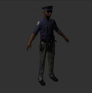 Original model of the streetcop
