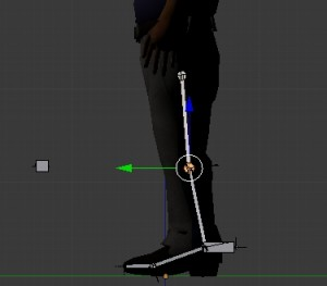 Adjust the leg rig for short legs