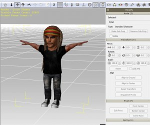 Character in 3DXchange