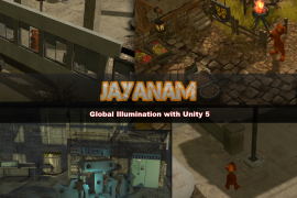 Unity5 global illumination