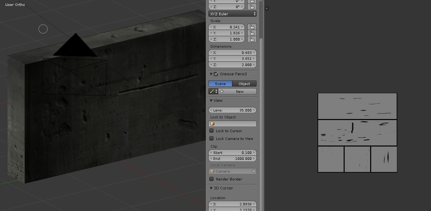 Baking Normalmap from Bumpmap with Blender