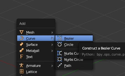 Add bezier curve