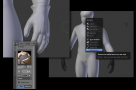 Blender sculpt UI Mask extract