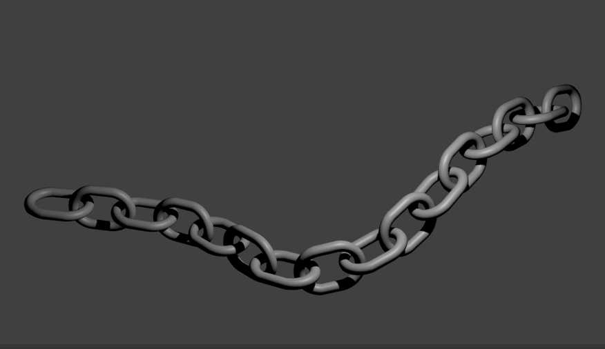 Rendered chain