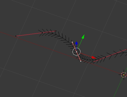 Move handles of bezier