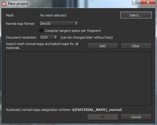 import mesh into substance painter
