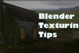 Blender texturing tutorial and tips