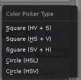 Colorpicker type quickprefs addon