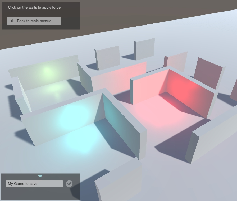 Store Unity3d state with Level Save