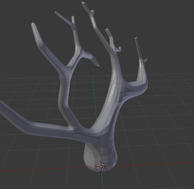 Select many vertices and scale or move