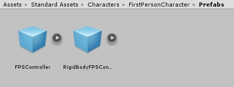 FPSCotroller and RigidBody version