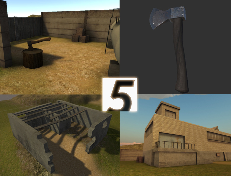 Industrial assets Unity 5