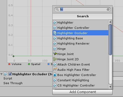 Add highlighter occlusion