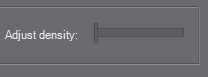 Manga Studio 5 theme density