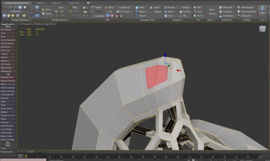 3DSMax tutorial modeling sphericon for 3d printing