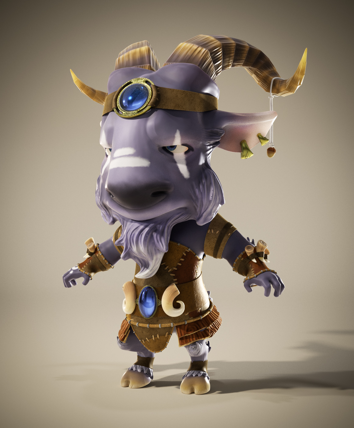 Character with Blender, ZBrush and Substance Painter