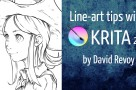 Line-Art tutorial Krita 2.9