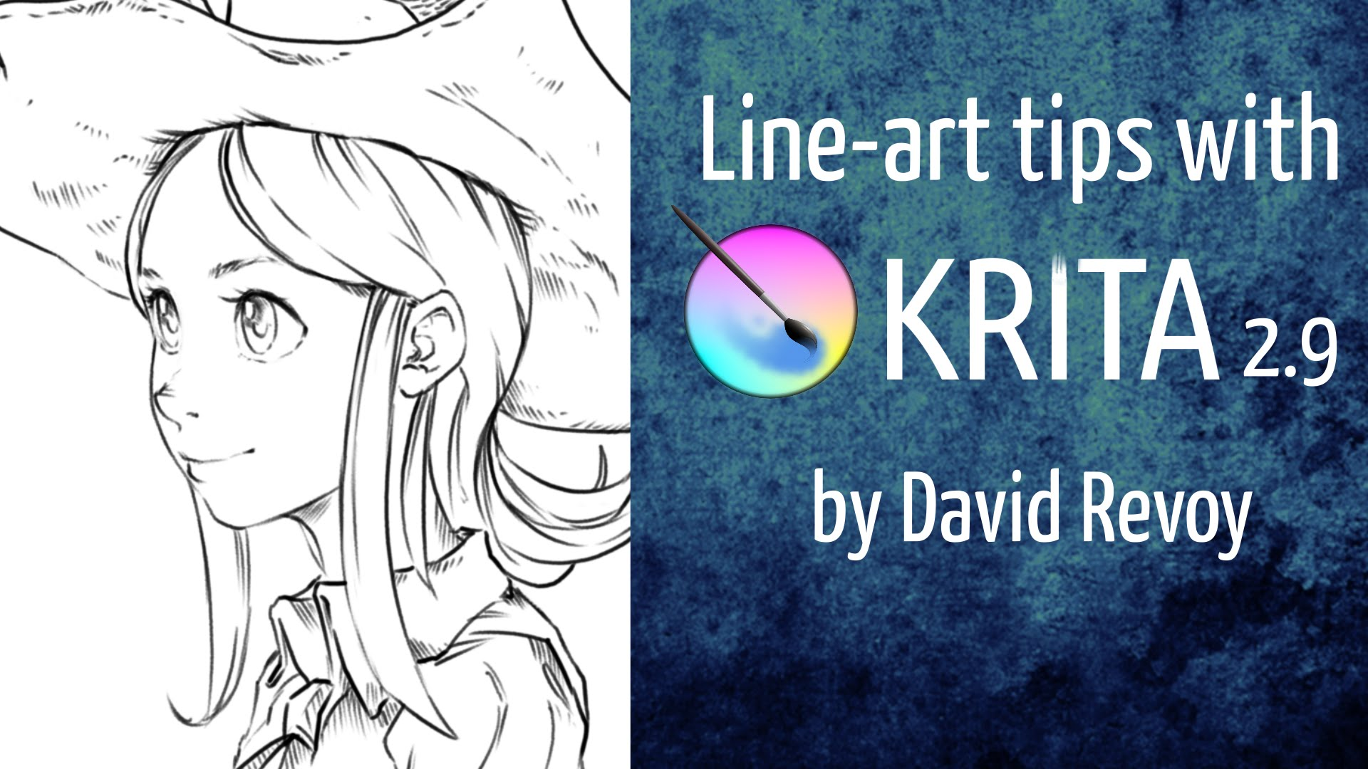Line Art Tutorial Photo : Line art tutorial krita jayanam gamedev tutorials