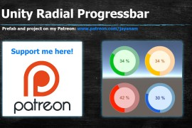 Radial Progressbar with Unity UI