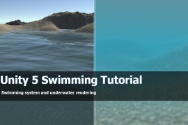 Unity 5 tutorial swimming and diving
