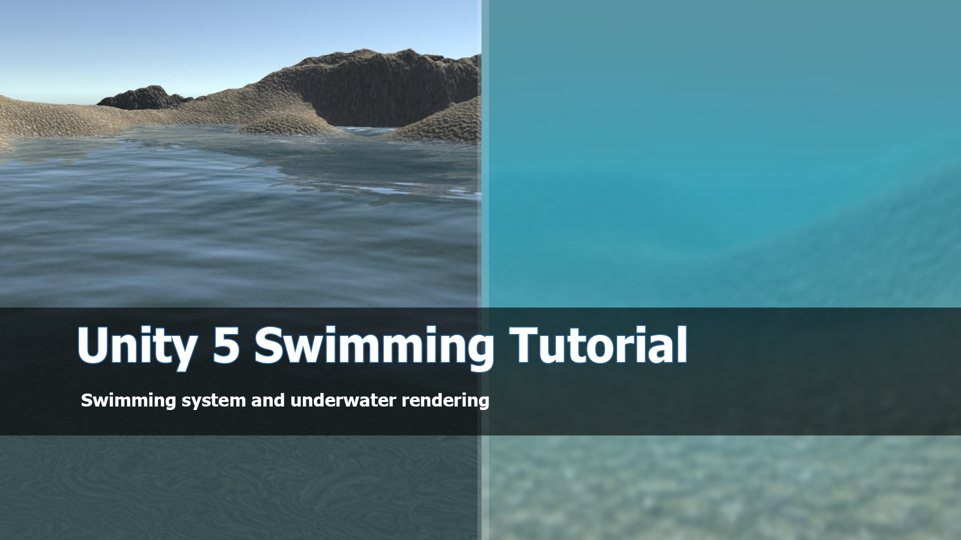 Unity 5 Swimming system and tutorial