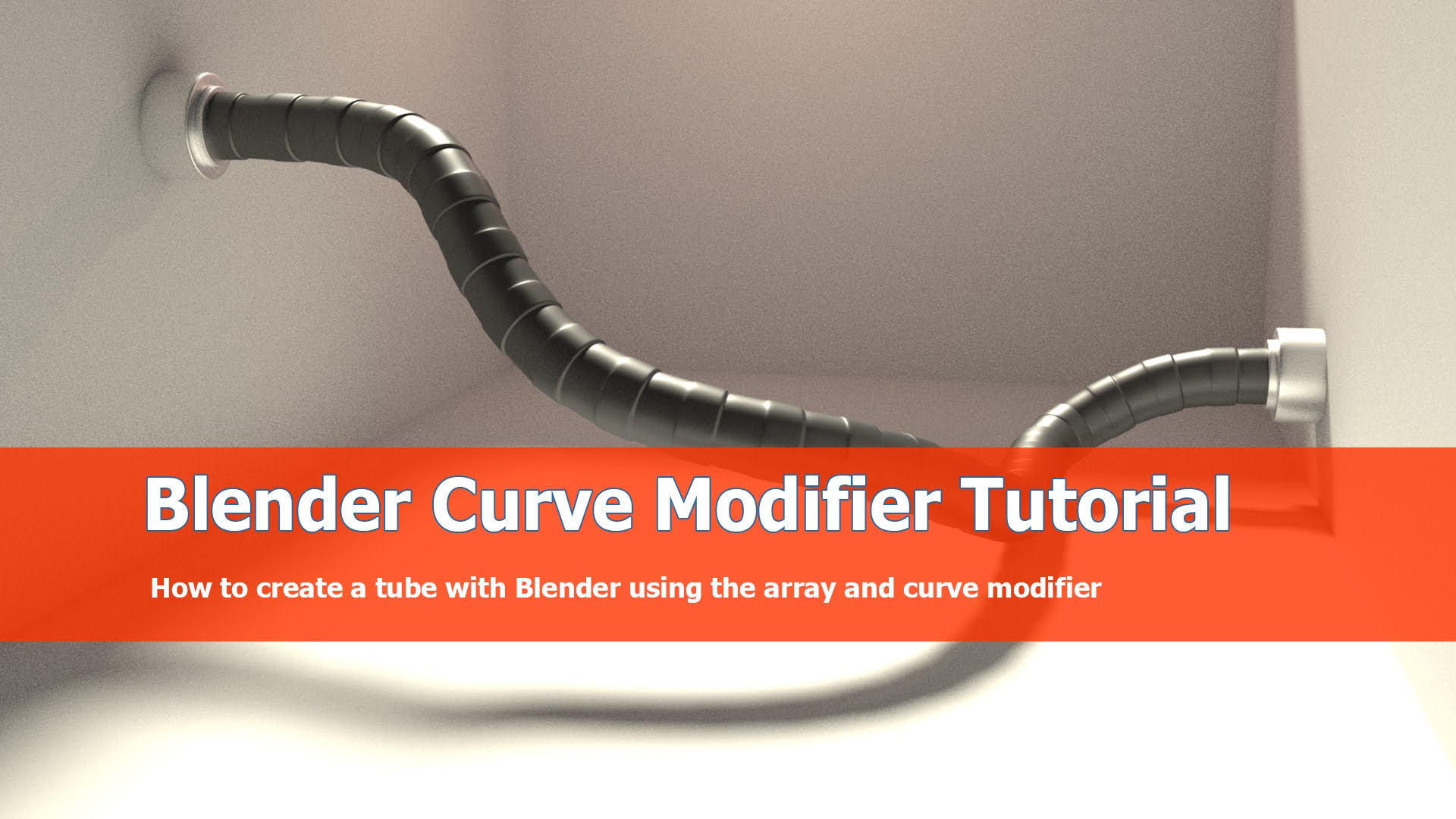 Blender Curve and Array modifier Tutorial