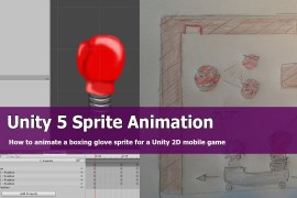 Unity 2d Multiple Sprite Animation tutorial