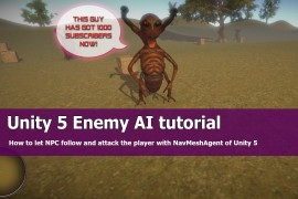 Unity 5 Enemy AI tutorial